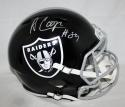 Amari Cooper Autographed Oakland Raiders Blaze Full Size Helmet- JSA W Auth