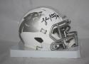 Luke Kuechly Autographed Carolina Panthers ICE Mini Helmet- JSA W Authenticated