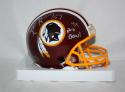 Ken Harvey Autographed Washington Redskins Mini Helmet W/ 4X Pro Bowl- Jersey Source Auth
