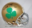 Jerome Bettis Autographed Notre Dame Fighting Irish ProLine Shamrock Helmet- JSA W