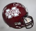 Dak Prescott, Fred Ross Autographed Mississippi State Bulldogs F/S Helmet-JSA W Auth