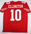 Bruce Ellington Autographed Red Pro Style Jersey- JSA Authenticated