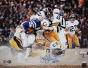 Jack Lambert HOF Autographed Steelers 16x20 Tackle vs Colts PF Photo- JSA W Auth