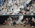Frank Robinson Autographed HOF Orioles 16x20 Swinging Photo- JSA W Authenticated