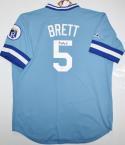 George Brett Autographed Kansas City Royal Jersey- Beckett Authentication