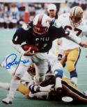 Lance McIlhenny Autographed 8x10 Mustangs Running Vertical Photo- JSA W Auth