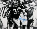 Franco Harris Autographed 8x10 Immaculate Reception Photo- JSA W Authenticated