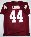 John David Crow Autographed Maroon College Style Jersey with Heisman- JSA Witness Auth