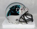 Luke Kuechly Autographed Carolina Panthers Mini Helmet- Beckett Authenticated
