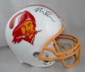 Mike Evans Autographed Tampa Bay Buccaneers F/S TB Helmet- Tristar Auth