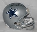 Michael Irvin Autographed F/S Silver Dallas Cowboys Helmet- JSA W Auth/Prova