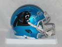 Luke Kuechly Autographed Carolina Panthers Blaze Speed Mini Helmet- Beckett Auth