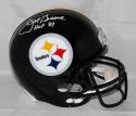 Joe Greene Autographed Pittsburgh Steelers F/S Helmet W/ HOF- JSA Witness Auth *White