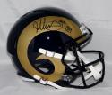 Todd Gurley Autographed Los Angeles Rams F/S Speed Helmet W/ ROY- PSA/DNA Auth