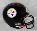Hines Ward Autographed Pittsburgh Steelers F/S Helmet- JSA Witness Auth *Silver
