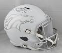 Emmanuel Sanders Autographed Denver Broncos ICE Full Size Helmet - JSA W Auth