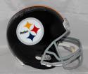 Franco Harris Autographed Pittsburgh Steelers F/S 63-76 TB Helmet *Silver- JSA W Auth