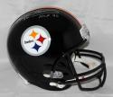 Franco Harris HOF Autographed Pittsburgh Steelers F/S Helmet- JSA W Auth *Silver
