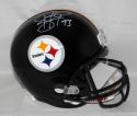 Troy Polamalu Autographed Pittsburgh Steelers Full Size Helmet- JSA W Auth *White