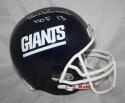 Bill Parcells HOF Autographed F/S New York Giants 81-99 TB Helmet- JSA Witness Auth