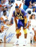 Shaquille O'Neal Autographed 16x20 LSU Tigers Hands on Knees Photo- Beckett Authenticated