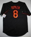Cal Ripken Jr. Autographed Black Baltimore Orioles Jersey W/ HOF- JSA W Auth
