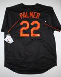 Jim Palmer Autographed Black Baltimore Orioles Jersey W/ HOF- JSA Witness Auth