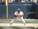 Rickey Henderson Autographed Oakland A's 16x20 Front View *White - JSA W Auth