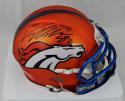 Von Miller Autographed Denver Broncos BLAZE Alternate Mini Helmet- JSA W Auth