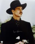 Val Kilmer Autographed Tombstone 16x20 Close Up Photo- JSA Witness Auth