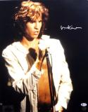 Val Kilmer Autographed The Doors 16x20 Jim Morrison Photo - Beckett Auth