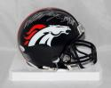 Von Miller Autographed Denver Broncos Mini Helmet W/ SB 50 MVP- JSA W Auth