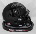 Von Miller Autographed Texas A&M Black Schutt Mini Helmet- JSA Witnessed Auth