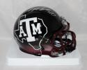 Von Miller Autographed Texas A&M 2012 Hydro Speed Mini Helmet- JSA Witness Auth