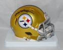 Antonio Brown Autographed Pittsburgh Steelers Blaze Speed Mini Helmet- JSA W Auth