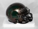 LeVeon Bell Autographed Michigan State Bronze Speed Mini Helmet- JSA W Auth