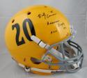 Billy Cannon Autographed LSU Tigers Full Size TB Schutt Helmet- JSA Auth