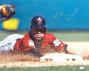 Jose Altuve Signed Houston Astros 16x20 Head First Slide *Silver Photo-JSA Auth