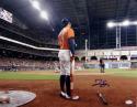 George Springer Autographed *Blue Houston Astros 16x20 Stadium Photo- JSA W Auth