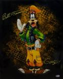 Bill Farmer Autographed Goofy 16x20 Photo- Beckett Auth *Yellow