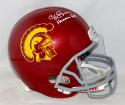 O. J. Simpson Autographed USC Trojans F/S Riddell Helmet W/ Heisman- JSA W Auth
