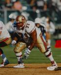 Larry Allen HOF Autographed 8x10 Vertical 49ers Photo- JSA W Authenticated