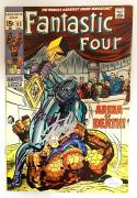 Stan Lee Autographed Fantastic Four Comic Book- JSA W 704468