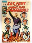 Stan Lee Autographed Sgt. Fury Comic Book- JSA W 704467
