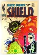 Stan Lee Signed/ Autographed Shield Comic Book- JSA W704462