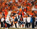 Emmanuel Sanders Autographed 16x20 Leaping Against Chargers Photo- JSA W Auth