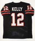 Jim Kelly Autographed Black Pro Style Jersey- JSA W Authenticated
