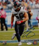 Brian Cushing Autographed 8x10 Vertical Texans Photo- JSA W Authenticated
