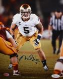 Manti Te'o Autographed 8x10 Vertical Front View Photo- JSA Authenticated