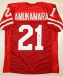 Prince Amukamara Signed / Autographed Red Jersey- JSA Authenticated